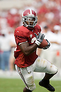 Alabama Crimson Tide running back Kenneth Darby runs with the ball during a 24 to 13 win over the Arkansas Razorbacks on September 24, 2005 at Bryant-Denny Stadium in Tuscaloosa, Alabama..Mandatory Credit: Wesley Hitt/Icon SMI