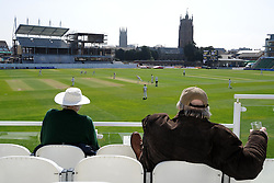 General view of the County Ground.  - Photo mandatory by-line: Harry Trump/JMP - Mobile: 07966 386802 - 07/04/15 - SPORT - CRICKET - Pre Season - Somerset v Lancashire - Day 1 - The County Ground, Taunton, England.