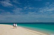 Retired couple on holiday, Zanzibar