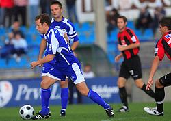 Konstantin Vassiljev (14) of Nafta  at 12th Round of PrvaLiga Telekom Slovenije between NK Primorje vs NK Nafta Lendava, on October 5, 2008, in Town stadium in Ajdovscina. Nafta won the match 2:1. (Photo by Vid Ponikvar / Sportal Images)