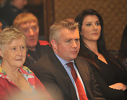Stephen Rochford was one of the speakers at the Westport GAA seminar on Health and Wellbeing.<br /> Pic Conor McKeown
