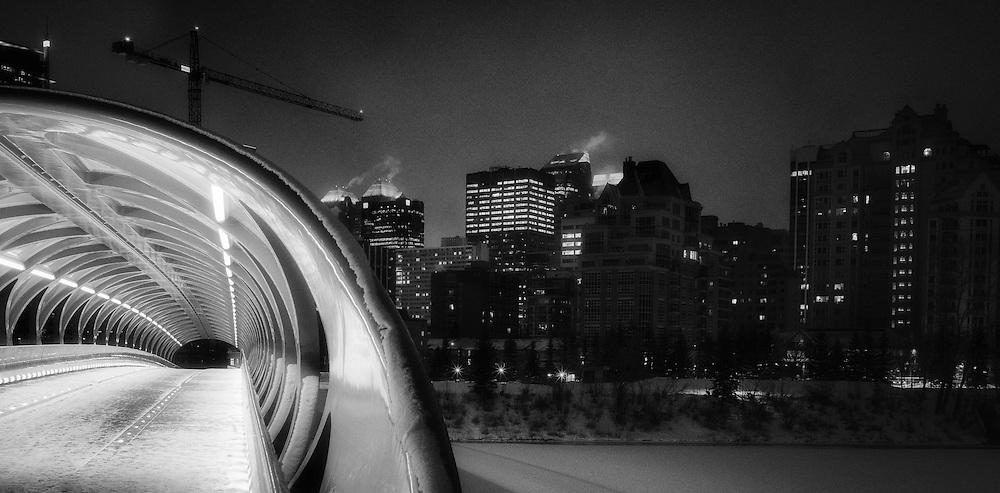 Winter in Downtown Calgary, Feb 2017