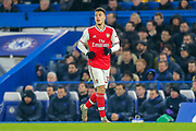 Arsenal forward Gabriel Martinelli (35) during the Premier League match between Chelsea and Arsenal at Stamford Bridge, London, England on 21 January 2020.