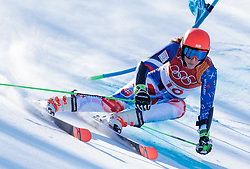 15.02.2018, Yongpyong Alpine Centre, Yongpyong, KOR, PyeongChang 2018, Ski Alpin, Damen, Riesenslalom, im Bild Petra Vlhova (SVK) // Petra Vlhova of Slovakia during the Ladies Alpine Giant Slalom Race of the Pyeongchang 2018 Winter Olympic Games at the Yongpyong Alpine Centre in Yongpyong, South Korea on 2018/02/15. EXPA Pictures © 2018, PhotoCredit: EXPA/ Johann Groder