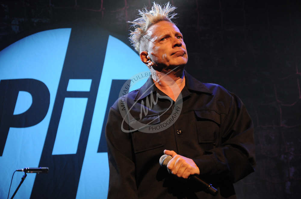 John Lydon of Public Image, Limited performs at the Nokia Theater in Los Angeles.