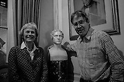 VIRGINIA MURRAY; JOHN MURRAY, The Walter Scott Prize for Historical Fiction 2015 - The Duke of Buccleuch hosts party to for the shortlist announcement. <br /> The winner is announced at the Borders Book Festival in Scotland in June.John Murray's Historic Rooms, 50 Albemarle Street, London, 24 March 2015.