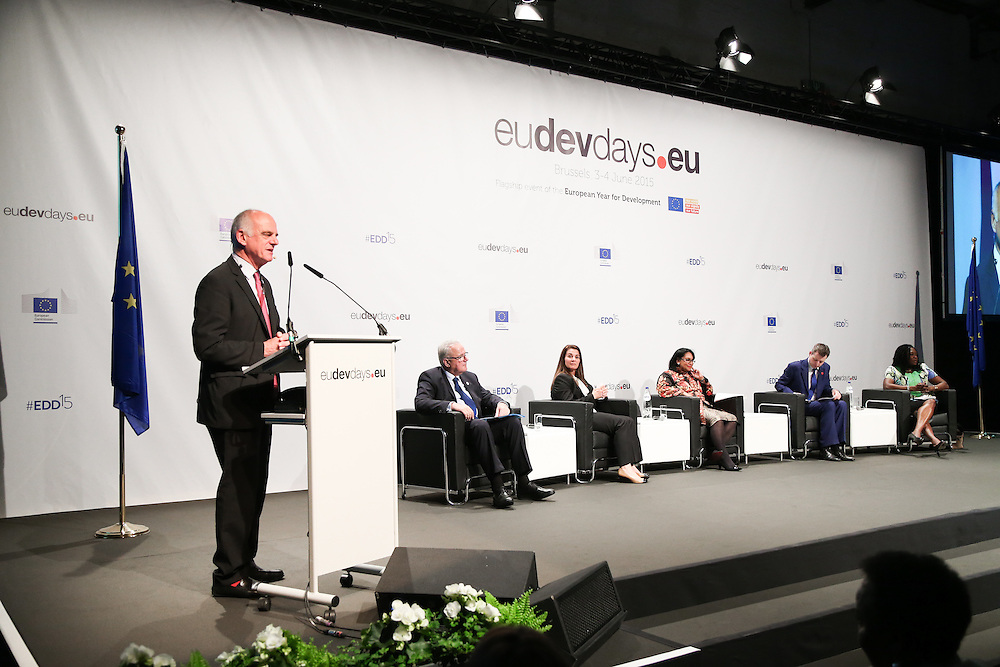 03 June 2015 - Belgium - Brussels - European Development Days - EDD - Food - Joining forces to make undernutrition history - David Nabarro , United Nations Secretary-General's Special Envoy on Ebola and Special Representative for Food Security and Nutrition © European Union