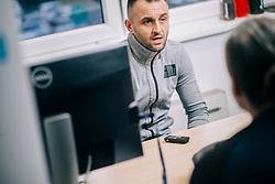 Portrait od Damir Puskar,ex Slovenian futsal representative and current KMN Dobovec goalkeeper, on February 27, 2020 in Baza Sporta, Ljubljana, Slovenia. Photo by Sinisa Kanizaj / Sportida