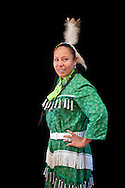 Hoop Dancer,Jasmine Pickner, Lakota,Rapid city,South Dakota,USA.Model release 0128