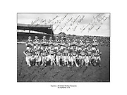 Tipperary, All Ireland Hurling Champions, 7th September 1958