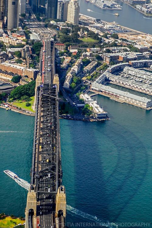 Sydney Harbour Bridge & Silhouette