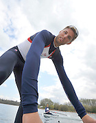 Caversham, Great Britain. GBR  M2X, Bill LUCAS  2012 GB Rowing World Cup Team Announcement Wednesday  04/04/2012  [Mandatory Credit; Peter Spurrier/Intersport-images]