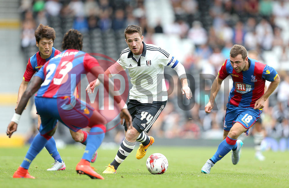 Ross McCormack of Fulham - Mandatory by-line: Paul Terry/JMP - 07966386802 - 01/08/2015 - SPORT - FOOTBALL - Fulham,England - Craven Cottage - Fulham v Crystal Palace - Pre-Season Friendly