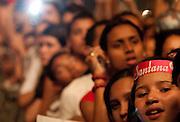 BELO HORIZONTE, MG, BRA. 17 de julho de 2011...UOL..Primeiro dia do Sertanejo Pop Festival. Show do cantor Luan Santana..Foto: RODRIGO LIMA / UOL