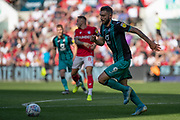 Swansea City forward Borja Baston during the EFL Sky Bet Championship match between Bristol City and Swansea City at Ashton Gate, Bristol, England on 21 September 2019.