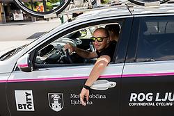 Marko Polanc of Rog Ljubljana during Stage 3 of 24th Tour of Slovenia 2017 / Tour de Slovenie from Celje to Rogla (167,7 km) cycling race on June 16, 2017 in Slovenia. Photo by Vid Ponikvar / Sportida