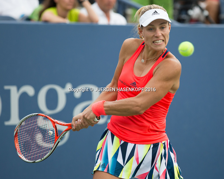 ANGELIQUE KERBER (GER)<br /> <br /> Tennis - US Open 2016 - Grand Slam ITF / ATP / WTA -  USTA Billie Jean King National Tennis Center - New York - New York - USA  - 31 August 2016.