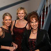 Premiere Marlene Dietrich Leiden, Milika Peterzon, Marleen Houter en Cilly Dartell