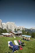 Trentino, Panorama Prà Martin Ciampedie