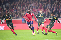 March 15, 2019 - Lille, France, FRANCE - Jonathan Ikone (Losc) vs JEMERSON  (Credit Image: © Panoramic via ZUMA Press)