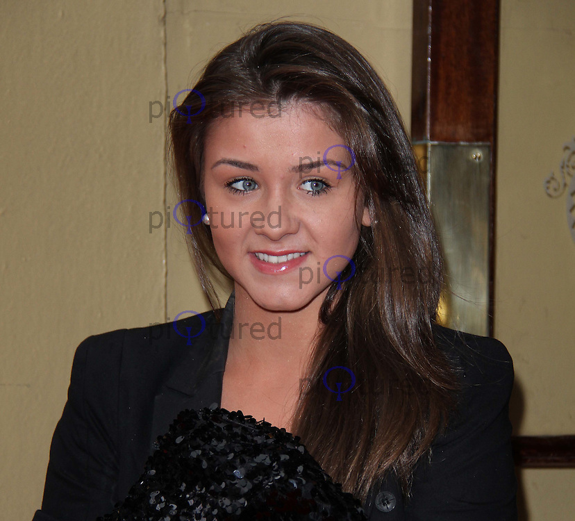 Brooke Vincent; Coronation Street Tesco Magazine Mum Of The Year, The Waldorf Hilton Hotel, London, UK, 27 February 2011:  Contact: Ian@Piqtured.com +44(0)791 626 2580 (Picture by Richard Goldschmidt)