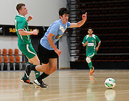 FUTSAL - HB v Manawatu, Napier,  New Zealand, November 29, 2013. Credit: John Cowpland / alphapix