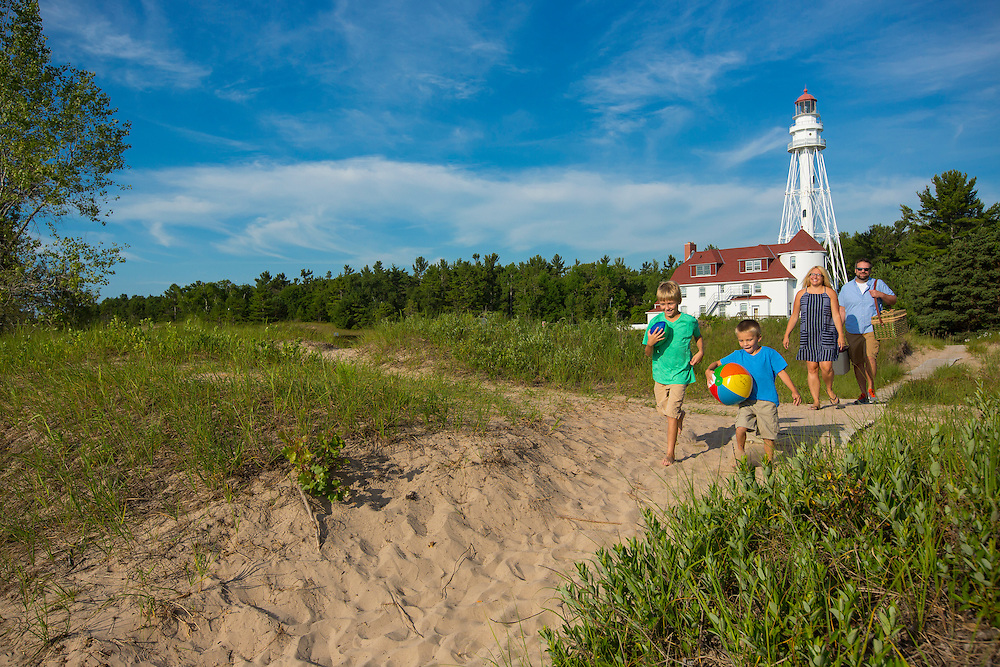 Point Beach State Forest, near Two Rivers, Wisconsin.  Photo by Mike Roemer
