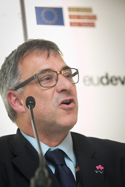 04 June 2015 - Belgium - Brussels - European Development Days - EDD - Urban - Solid ground - Access to land for vulnerable people in developing countries - Julian Baskin , Senior Urban Specialist , Cities Alliance © European Union