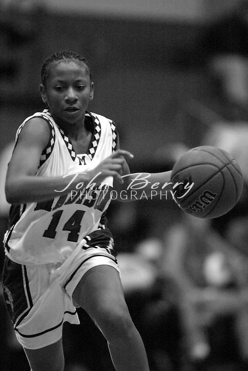 MCHS Varsity Girls Basketball..vs Orange..Third Period..December 18, 2004
