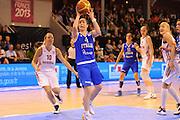 Vannes 17 Giugno 2013 <br /> Eurobasket Women 2013<br /> Italia - Russia<br /> Nella foto: francesca dotto<br /> Foto Ciamillo