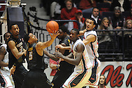 "Ole Miss vs. Missouri at the C.M. ""Tad"" Smith Coliseum in Oxford, Miss. on Saturday, February 8, 2014. (AP Photo/Oxford Eagle, Bruce Newman)"