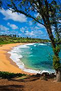 Kuna Bay, Lihue, Kauai, Hawaii USA