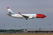 LN-NIH Norwegian Air Shuttle, Boeing 737-800 at Malpensa (MXP / LIMC), Milan, Italy