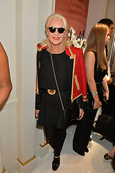 AMANDA ELIASCH at the opening of the Nirav Modi flagship London store at 31 Old Bond Street, London on 19th September 2016.
