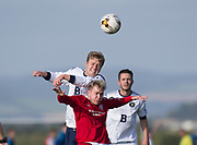 Bank Street Athletic (red) v Occidental (white) - Dundee Saturday Morning Football League at University Grounds, Riverside<br /> <br /> <br />  - © David Young - www.davidyoungphoto.co.uk - email: davidyoungphoto@gmail.com