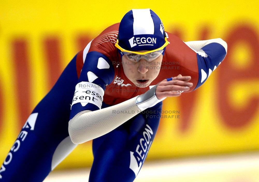 27-01-2007 SCHAATSEN: ESSENT WORLDCUP SPRINT: HEERENVEEN<br /> Margot Boer<br /> &copy;2007-WWW.FOTOHOOGENDOORN.NL