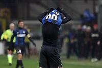 """Delusione Antonio Cassano Inter<br /> Milano 24/02/2013 Stadio """"San Siro""""<br /> Football Calcio Serie A 2012/13<br /> Inter v Milan<br /> Foto Insidefoto Paolo Nucci"""