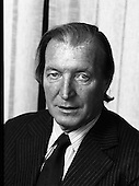 1979 - Portrait of Charles J Haughey Minister for Health, Social Welfare (M91)