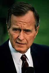 Jul 31, 1989; Washington, DC, USA; U.S. President GEORGE H. W. BUSH, SR.  (Credit Image: © Arthur Grace/ZUMAPRESS.com)