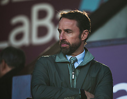 England manager Gareth Southgate in the stands - Mandatory by-line: Jack Phillips/JMP - 23/02/2019 - FOOTBALL - Turf Moor - Burnley, England - Burnley v Tottenham Hotspur - English Premier League