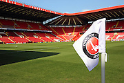 The Valley during the Sky Bet Championship match between Charlton Athletic and Birmingham City at The Valley, London, England on 2 April 2016. Photo by Matthew Redman.