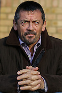 Phil Brown, Manager of Southend United, during the Sky Bet League 2 match at Roots Hall, Southend<br /> Picture by David Horn/Focus Images Ltd +44 7545 970036<br /> 10/01/2015