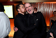 Sam Rockwell, left, and Richard Jenkins attend FOX 2018 Golden Globes After Party at The Beverly Hilton on Sunday, January 7, 2018, in Beverly Hills, Calif. (Photo by Jordan Strauss/JanuaryImages/Invision/AP)