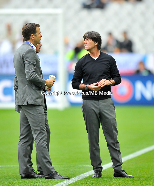 2016.06.16 Saint-Denis<br /> Pilka nozna Euro 2016<br /> mecz grupy C Polska - Niemcy<br /> N/z Joachim Loew trener head coach<br /> Foto Norbert Barczyk / PressFocus<br /> <br /> 2016.06.16 Saint-Denis<br /> Football UEFA Euro 2016 group C game between Poland and Germany<br /> Joachim Loew trener head coach<br /> Credit: Norbert Barczyk / PressFocus