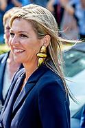 ZEVENAAR - Koningin Maxima tijdens de ondertekening van een convenant voor beter muziekonderwijs op