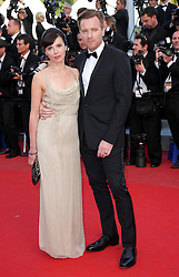 Ewan McGregor and wife  at the premiere of On The Road at the Cannes Film Festival, Wednesday, 23rd May 2012.  May 2012. Photo by: Stephen Lock / i-Images