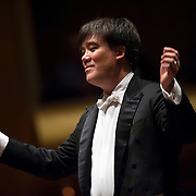 October 4, 2012 - New York, NY : Conductor Alan Gilbert leads the New York Philharmonic in Mozart's 'Symphony  No. 36 in C major, Linz, K.425 (1783)' in Lincoln Center's Avery Fisher Hall on Thursday night. CREDIT: Karsten Moran for The New York Times