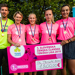 20190915: SLO, Tennis - League finals for men and women 2019
