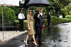 Donald Trump en route to Texas - 2 Sep 2017