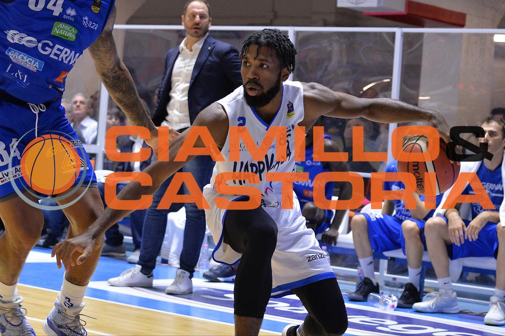 Suggs Scott<br /> Happycasa Brindisi - Germani Basket Brescia<br /> Legabasket serieA2017-2018<br /> Brindisi , 29/10/2017<br /> Foto Ciamillo-Castoria/M.Longo